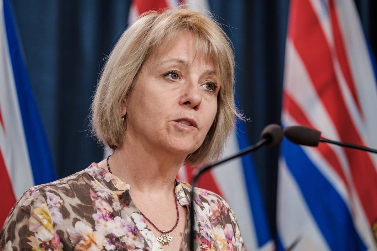 Dr. Bonnie Henry, provincial health officer for B.C. (B.C. government photo)